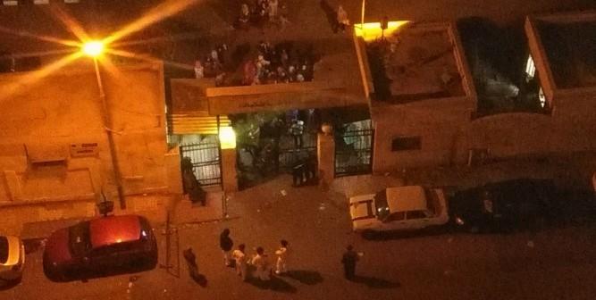 وقفة في المدينة الجامعية للبنات بالإسكندرية بعد صعق طالبتين بالكهرباء (صور وفيديو)