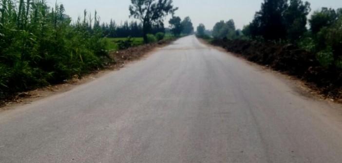 مطالب بإنارة طريق حيوي يخدم 42 قرية بالدقهلية (صور)
