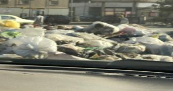 سكان شارع «أحمد الزمر» بمدينة نصر يطالبون برفع القمامة.. وتجميل الحي العاشر