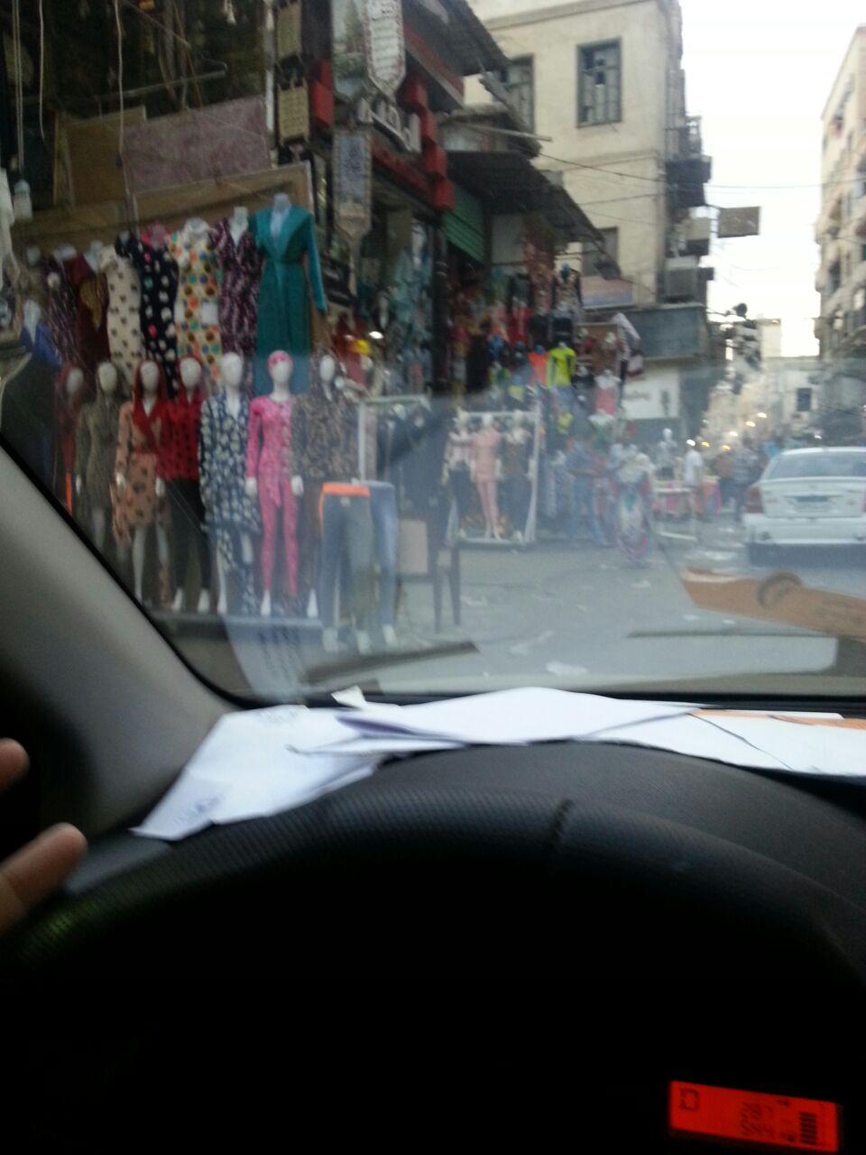 مطالب برفع تعديات شارع فرنسا.. وتسهيل حركة السير