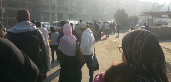 ضبط 20 حالة زيادة تعريفة ركوب بعد شكوى مواطن بموقف مدينة نصر بالهرم