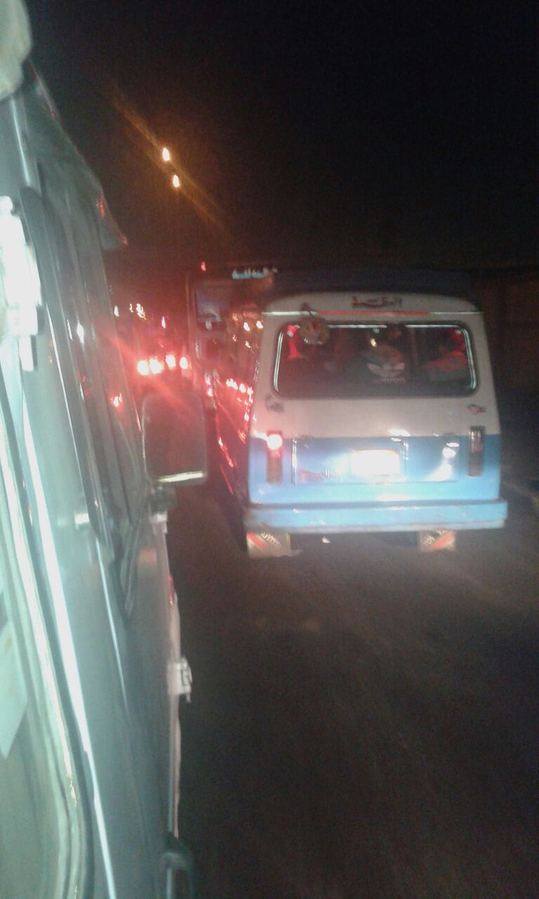 زحام يومي من «أحمد حلمي» حتى موقف عبود منذ 7 شهور