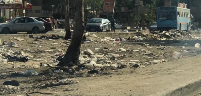 حملة لتنظيف شوارع «الحي العاشر» بمدينة نصر وتجميلها (صور)