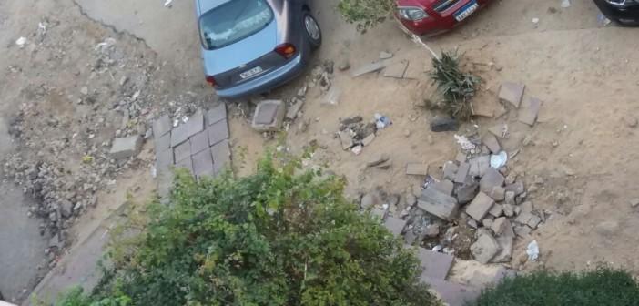 سكان بـ«مصر الجديدة» يطالبون «الكهرباء» بإعادة ترميم الشوارع بعد تكسيرها(صور)