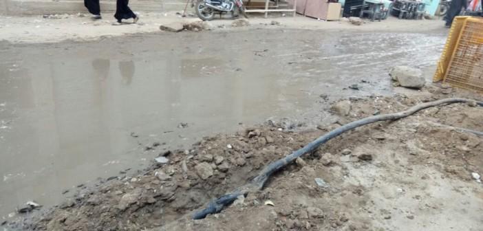 سكان قرية «أبو بسيوني» بالغربية يطالبون بشبكة صرف جديدة