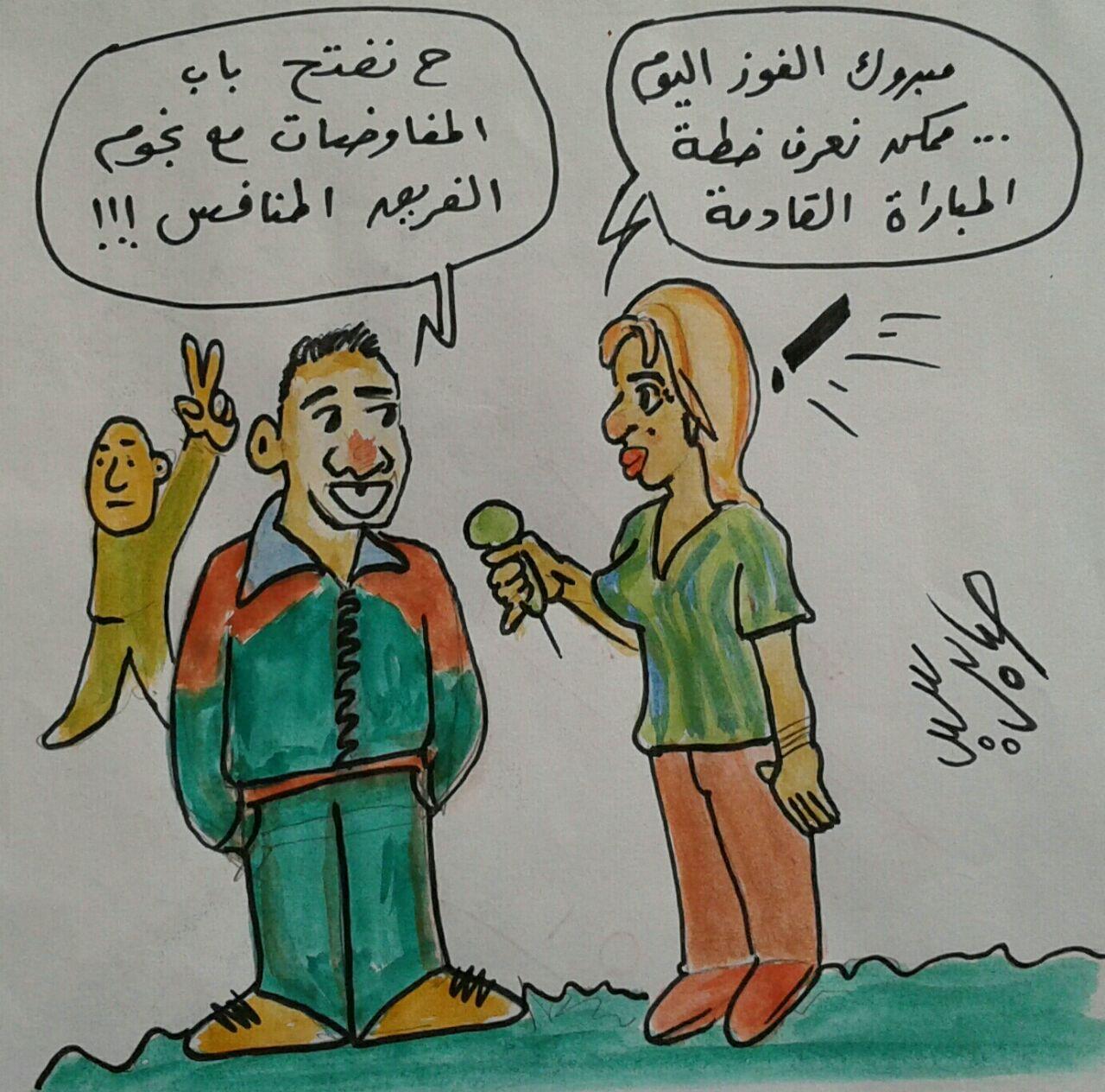 كاريكاتير: صابر سيد أحمد – أرمنت (الأقصر)