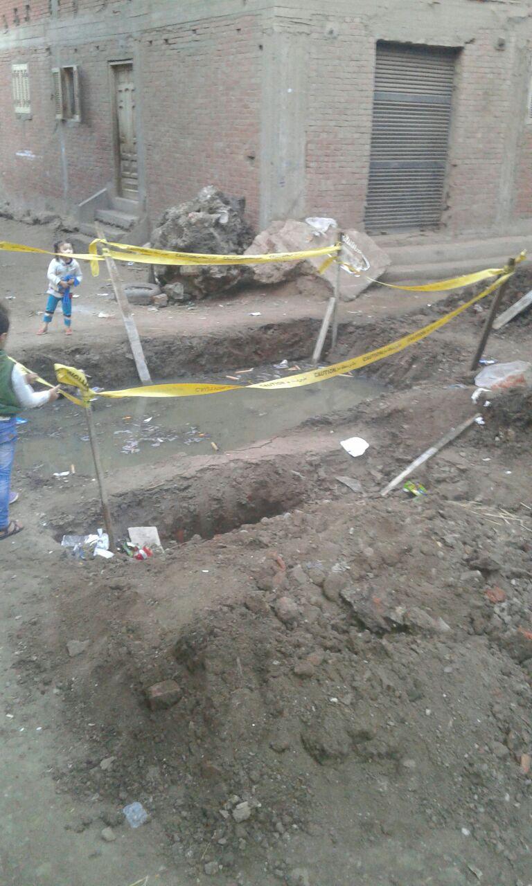 مشكلة الصرف الصحي تهدد أهالي قرية «مزاج» بالغربية (صور)