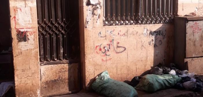 وحدة تطعيم الأطفال بـ«وراق العرب» تحول لمقلب قمامة(صورة)