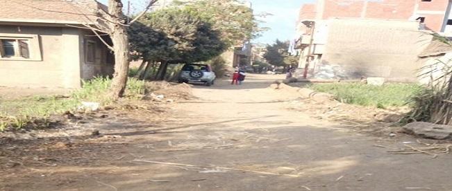مطالب برصف طريق «كفر الشراقوة» بميت غمر