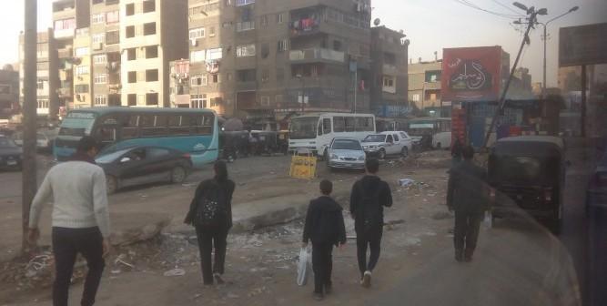 استياء من تحول شوارع في شبرا إلى جراج بعد تطويرها
