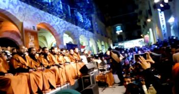اختتام ليالي «ممر بهلر» لفنون الشارع المصري في عيد الحب