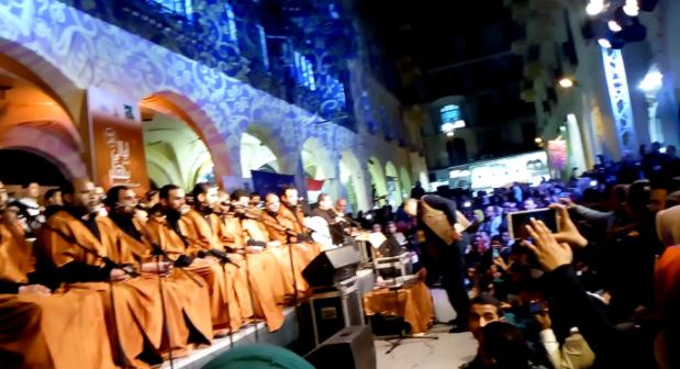 بالصور.. اختتام ليالي «ممر بهلر» لفنون الشارع المصري في عيد الحب