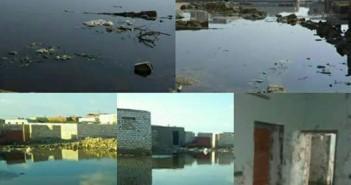 أهالي «الوابور الجديدة» بالفيوم يطالبون بمد خدمات الصرف الصحي للقرية