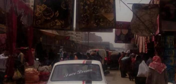 مواطن يطالب بنقل سوق «عشوائي» بالمرج (صور وفيديو)