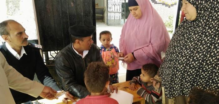 #الانتخابات_الرئاسية..إقبال على لجان الانتخابات بقري البنجر ببرج العرب..(صور)