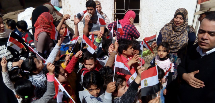 #الانتخابات_الرئاسية.. أهالي «طنيخ» بالدقهلية يدلون بأصواتهم