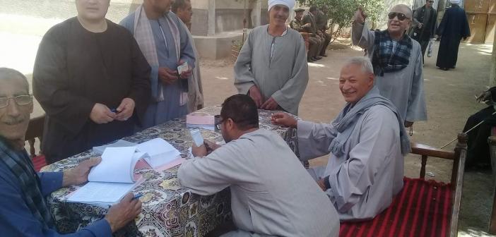 #الانتخابات_الرئاسية.. إقبال كبير على لجان «البلينا» بسوهاج..(صور)