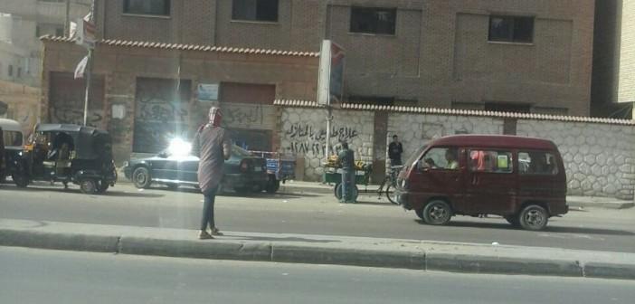 مطالب بإنشاء إشارة مرور أمام مدرسة بالإسكندرية حفاظاً على التلاميذ