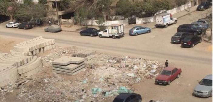 استياء بسبب انتشار القمامة بشارع «المنتزه» مصر الجديدة