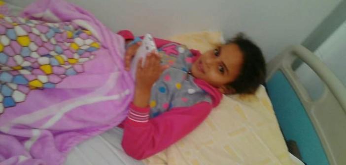 «أشكيناز» تعاني من فيرسAبالكبد.. وأهلها يطالبون الدولة بعلاجها(صور)