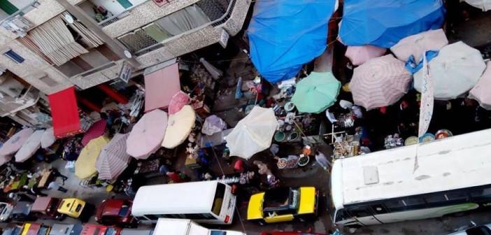 زحام يومي بشارع «القاهرة» في غياب مسؤولي محافظة الإسكندرية